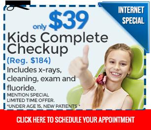 Kids Dental Exam Special